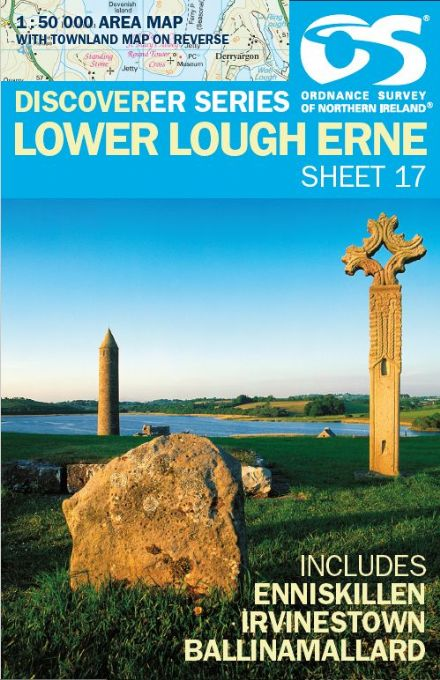 Ordnance Survey Northern Ireland 1:50,000 - Map 17 - Lower Lough Erne